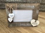 Shabby personalised Chic Photo Frame Auntie Aunty Great Aunt Gift  Present - 232651348580